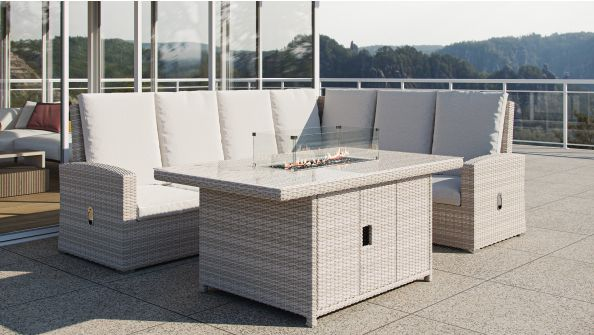 Sansibar XS mit Feuertisch