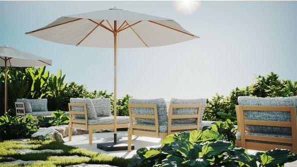 Sonnenschirm Dominica