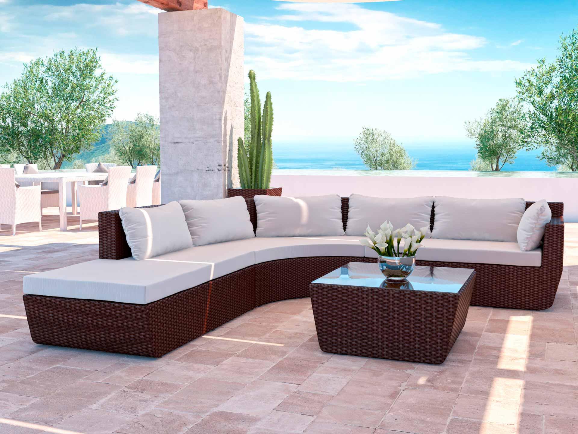 artelia gartenm bel esstisch set im ausverkauf. Black Bedroom Furniture Sets. Home Design Ideas