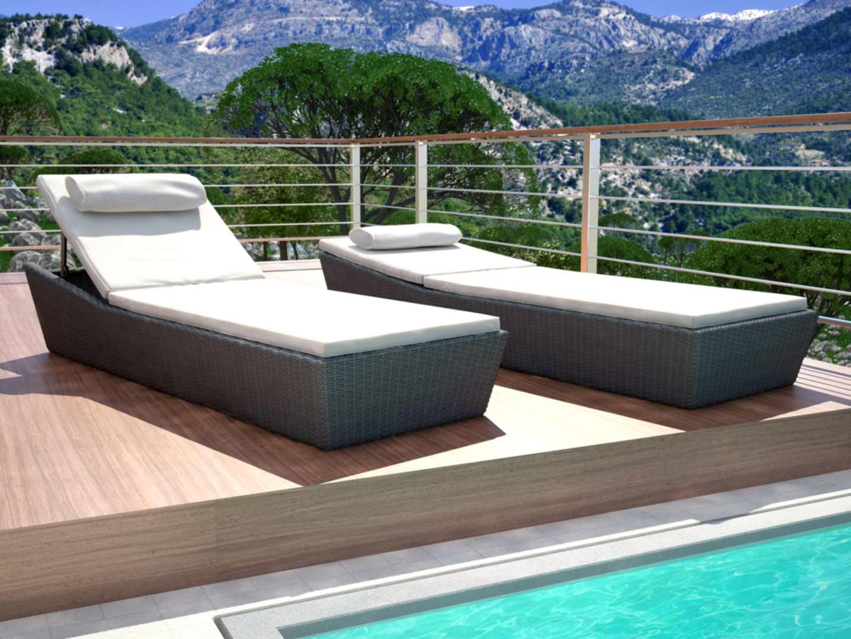 artelia jetzt die polyrattan liege kaufen. Black Bedroom Furniture Sets. Home Design Ideas