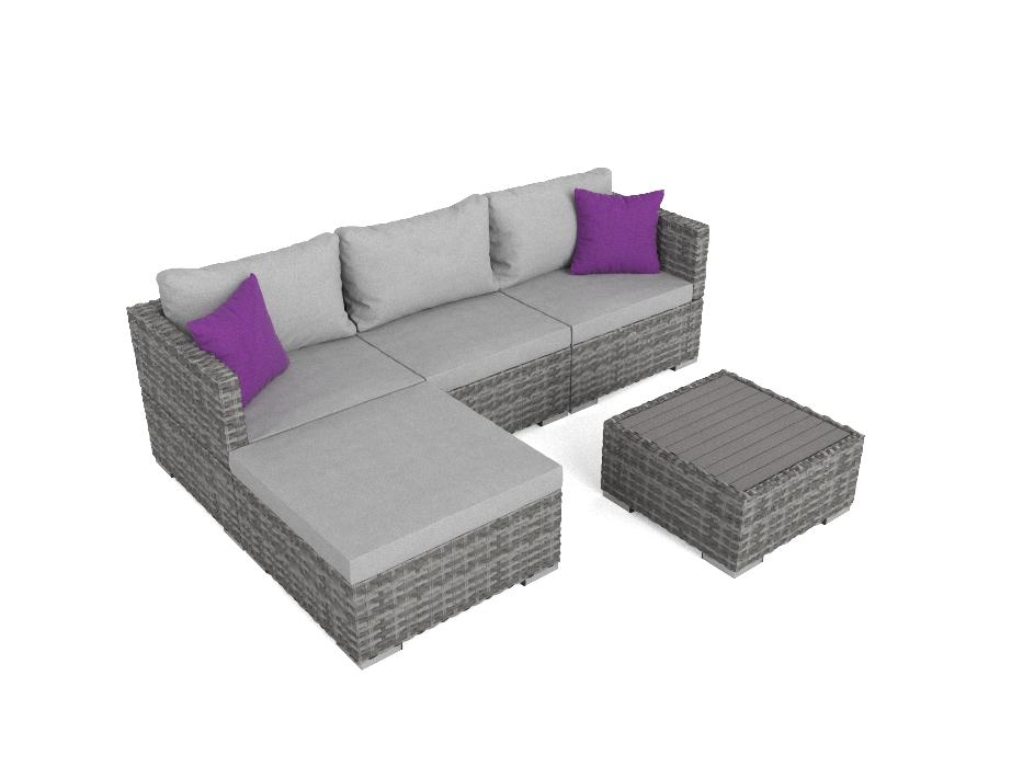 ARTELIA | Gartenmöbel Esstisch Set im Lounge Design günstig im ...