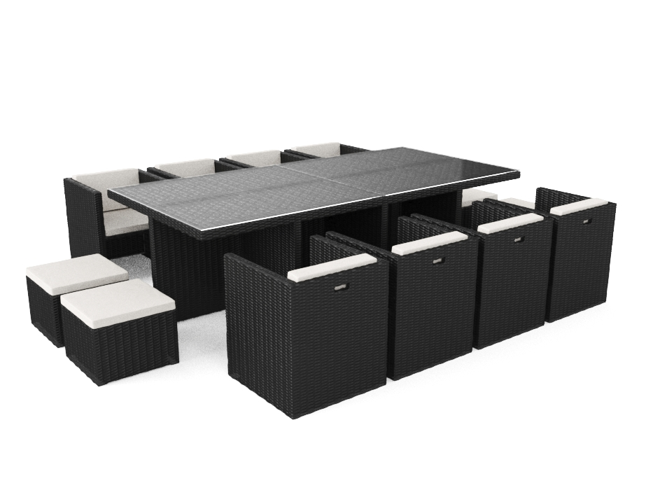 ARTELIA | Jetzt das Polyrattan Set Boreas XL für 12 Personen kaufen