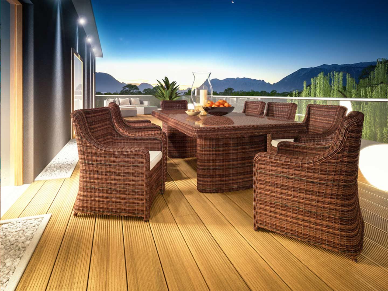 Terrassen Essgruppe Catalaya XL