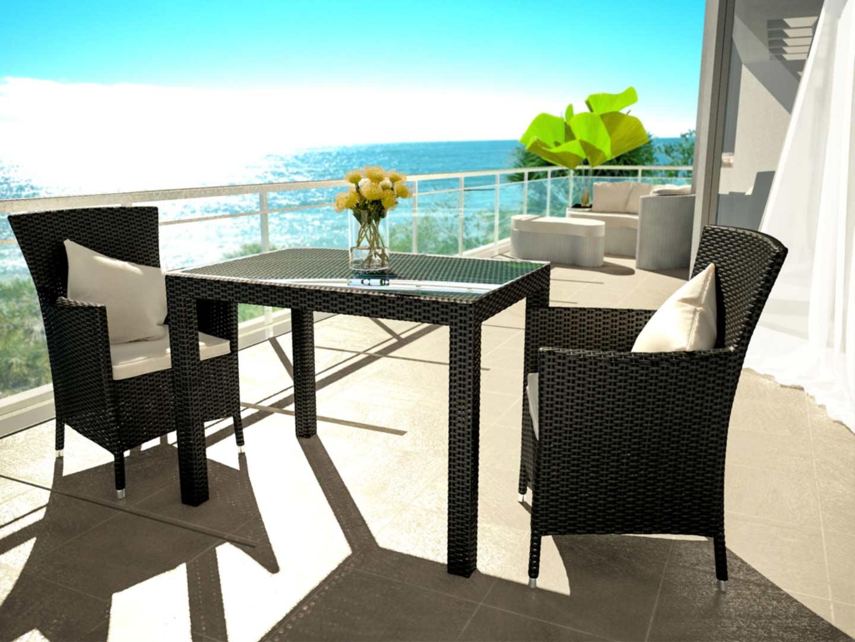 artelia jetzt rattan essgruppe g nstig online kaufen. Black Bedroom Furniture Sets. Home Design Ideas