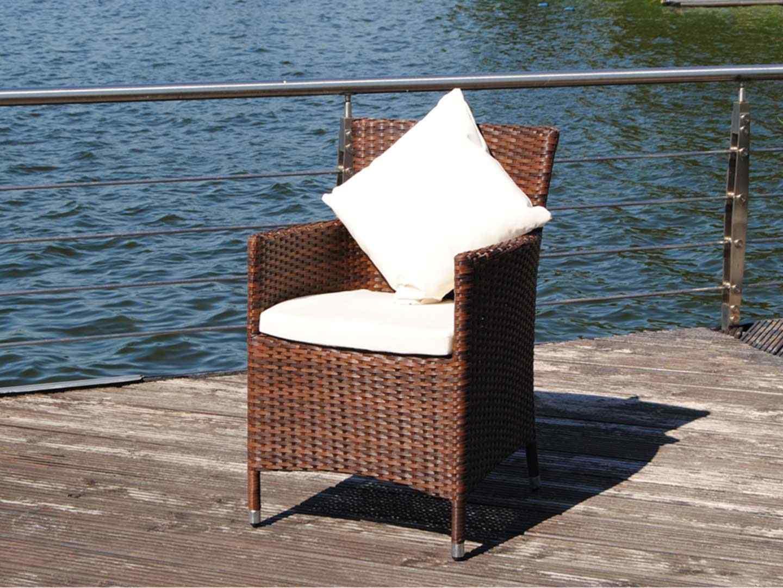 artelia artelia polyrattan st hle mit armlehne im lounge design g nstig kaufen. Black Bedroom Furniture Sets. Home Design Ideas
