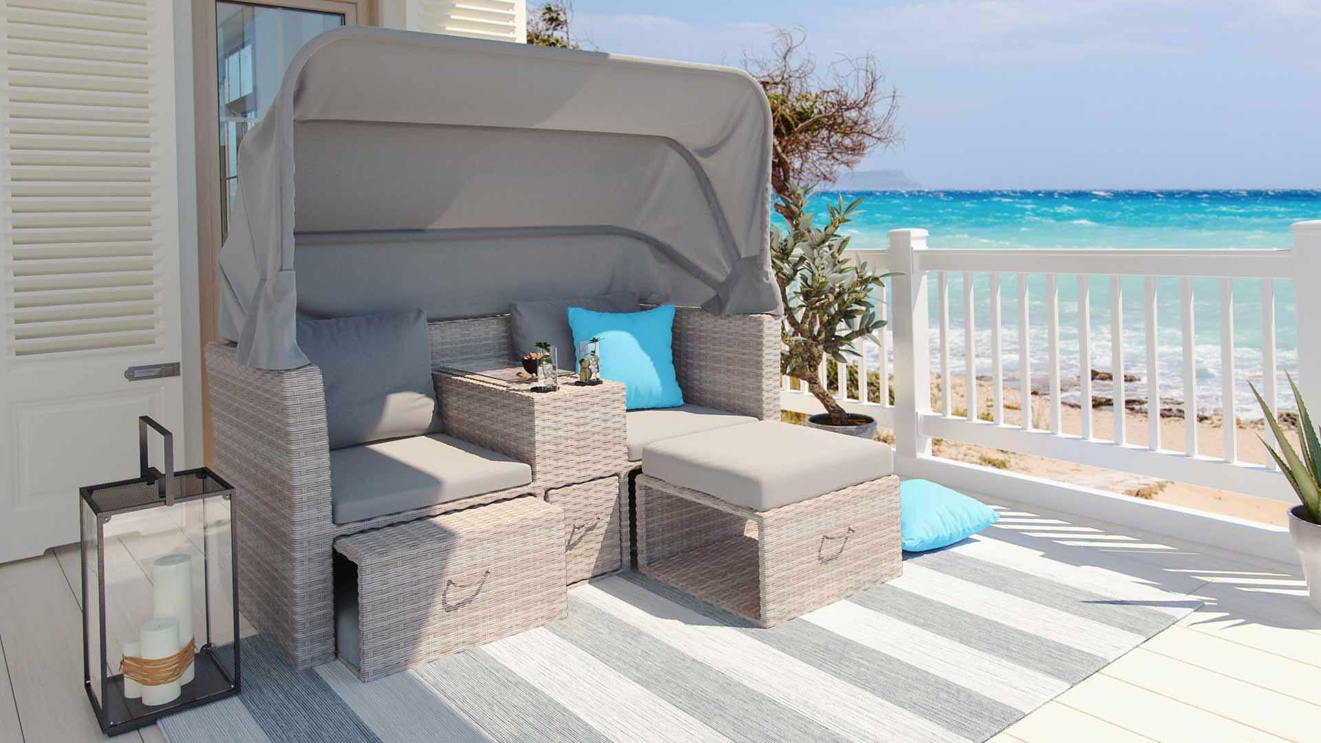 artelia jetzt die polyrattan sonneninsel kaufen. Black Bedroom Furniture Sets. Home Design Ideas