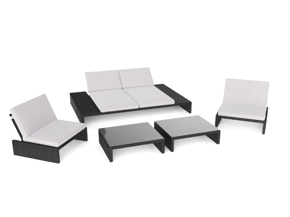 Artelia Outdoor Loungemobel Set Fur Terrasse Und Lounge