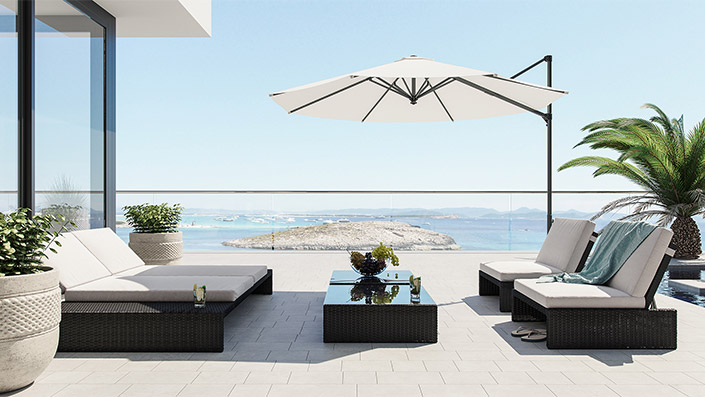 Estoria L - Outdoor Loungemöbel Set
