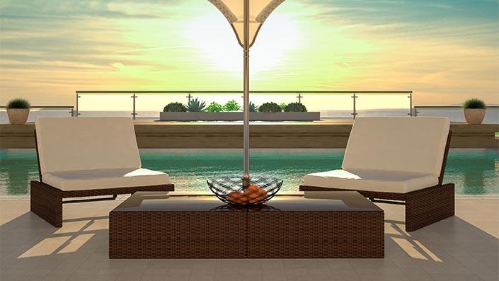 Estoria M - Outdoor Loungemöbel Set