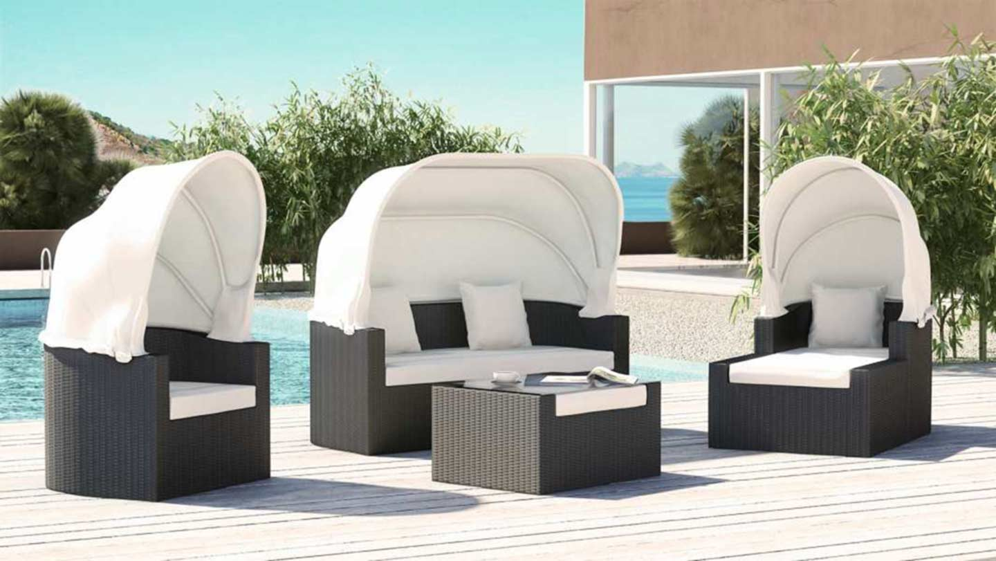 gartenm bel rattan ausverkauf qf94 kyushucon. Black Bedroom Furniture Sets. Home Design Ideas