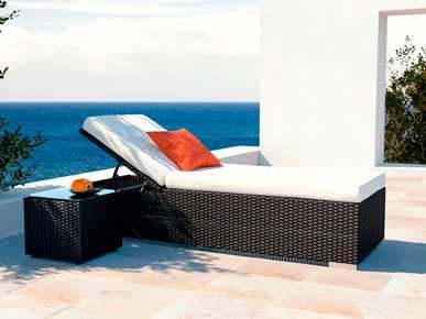 artelia rattan liege likris s mit beistelltisch aus polyrattan g nstig kaufen. Black Bedroom Furniture Sets. Home Design Ideas