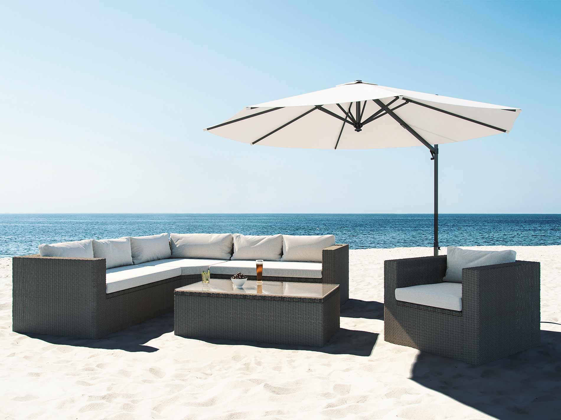 artelia polyrattan sitzgruppe limia. Black Bedroom Furniture Sets. Home Design Ideas