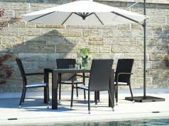Marzato S - Polyrattan Bank Set