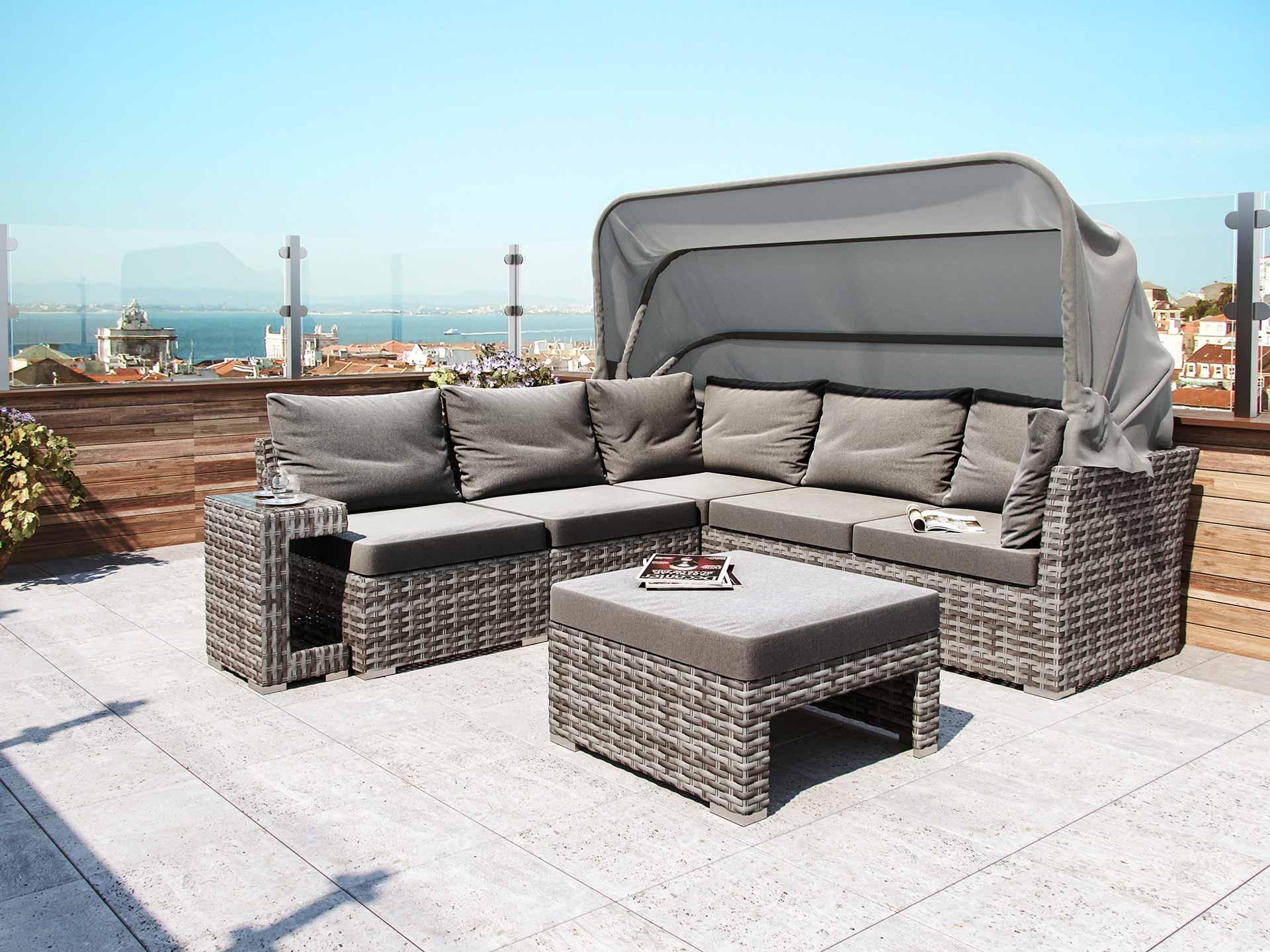 artelia jetzt die polyrattan sonneninsel noah kaufen. Black Bedroom Furniture Sets. Home Design Ideas