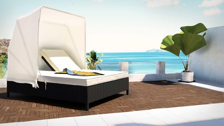 Design sonneninsel  ARTELIA | Jetzt die Polyrattan Sitzgruppe Boreas für 10 Personen kaufen