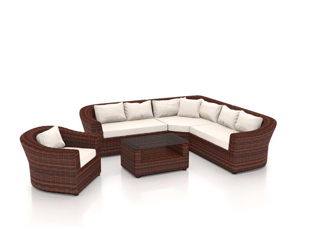 artelia jetzt die polyrattan ecklounge rondino kaufen. Black Bedroom Furniture Sets. Home Design Ideas