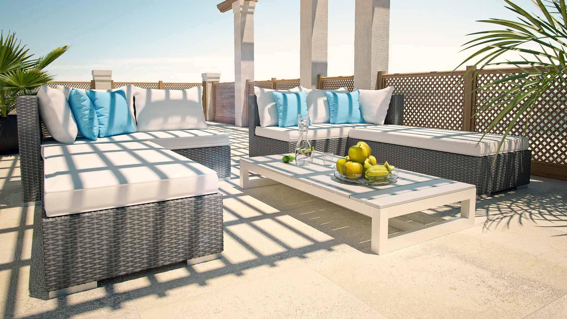 artelia rattan sonneninsel im lounge stil f r garten und terrasse. Black Bedroom Furniture Sets. Home Design Ideas