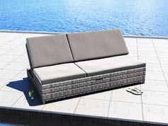 Sky - Polyrattan Bank Set
