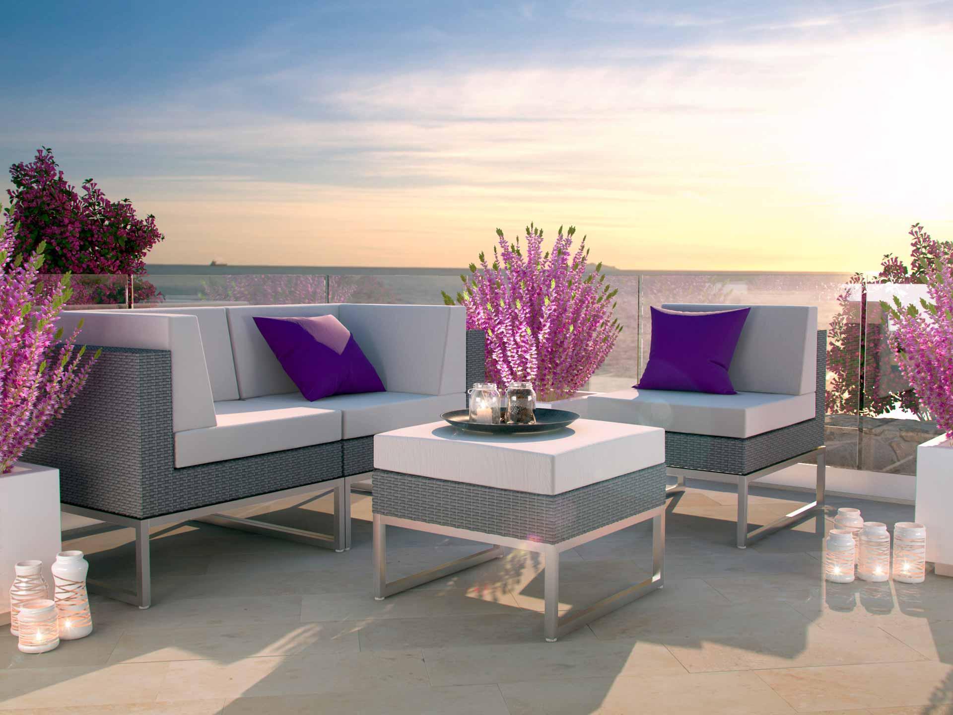 ARTELIA | Leichte Gartenmöbel aus Aluminum oder Alu online kaufen