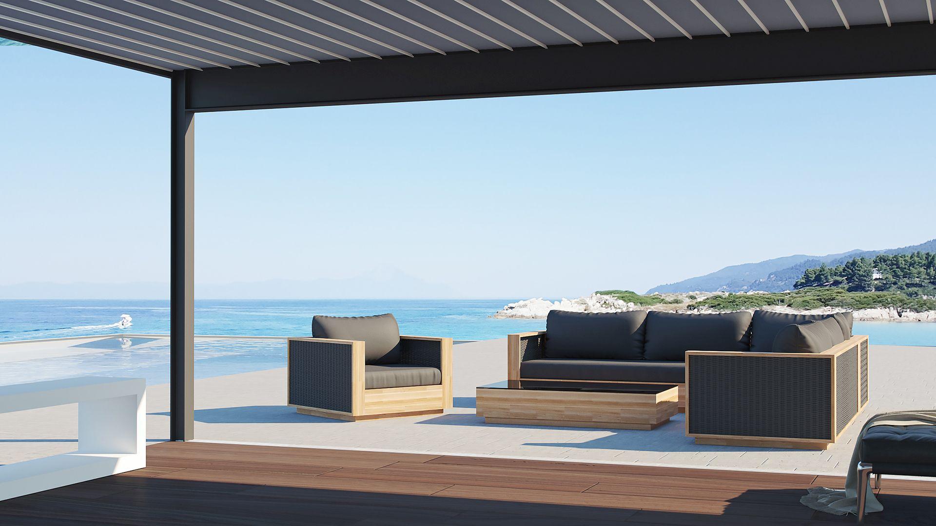 Gönnen Sie sich den Luxus einer komfortablen Sitzgruppe im heimischen Außenbereich